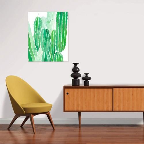 Poster Cactus en papier 40 x 50 cm