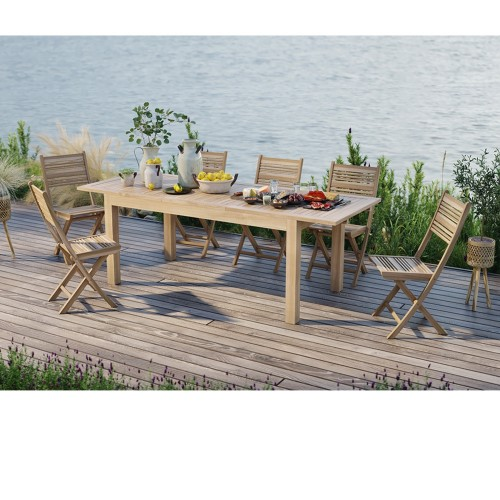 Table de jardin extensible Nido 180/240cm