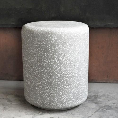 Table d'appoint Pampa en terrazzo ∅ 46 cm