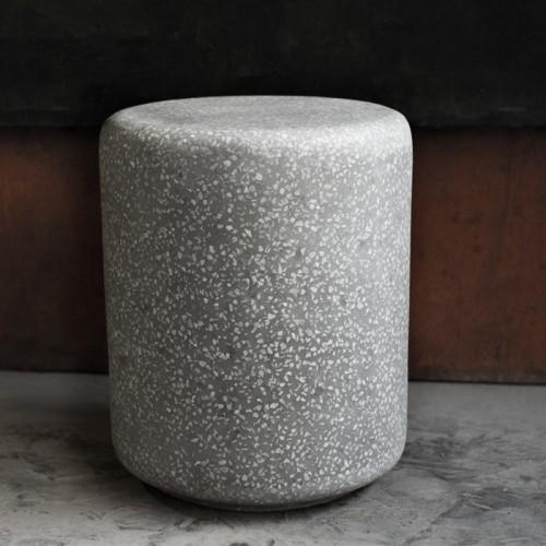 Table d'appoint Pampa en terrazzo ∅ 36 cm