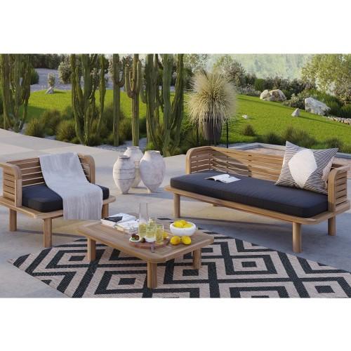 Table basse de jardin Kilda