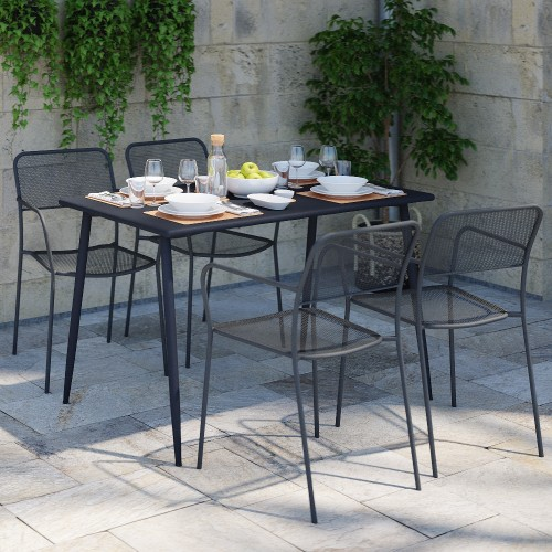 Table de jardin Endrix 120 cm