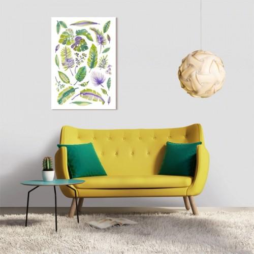 Tableau en verre acrylique Végétal 50 x 70 cm