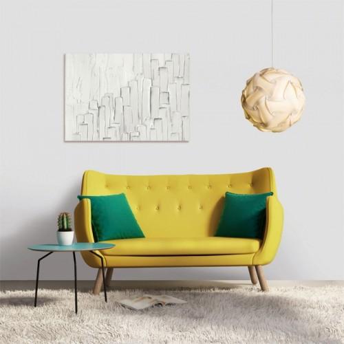 Tableau en verre acrylique Bianca 50 x 70 cm