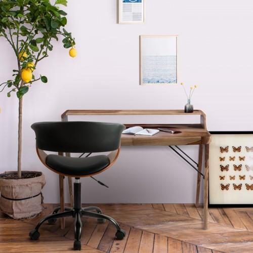 Chaise de bureau Basile noire