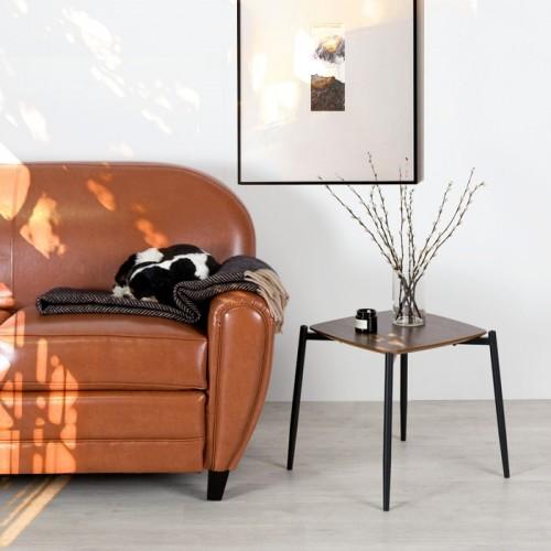 Table basse carrée Regia 40 cm