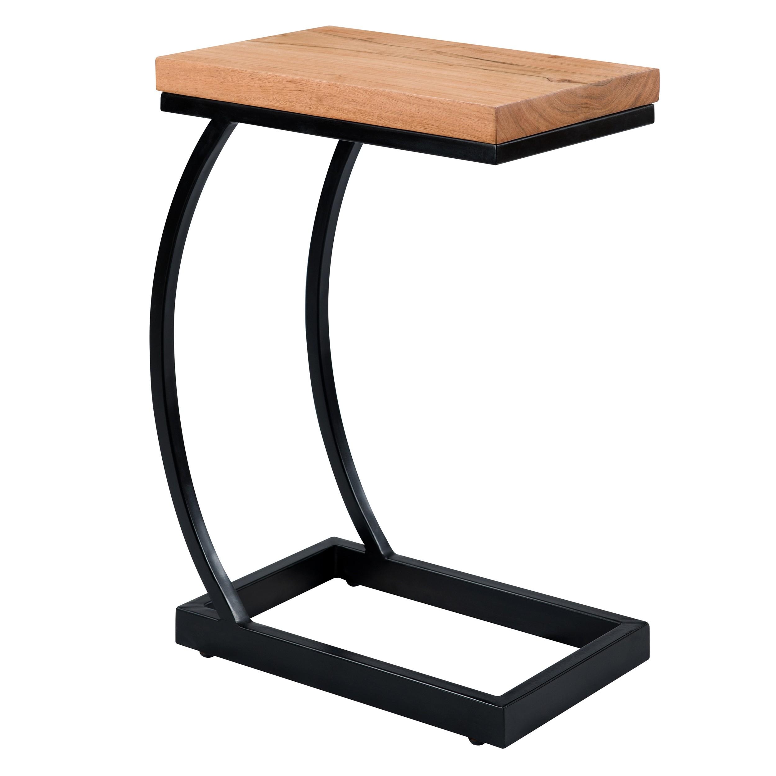 acheter bout de canape bois metal