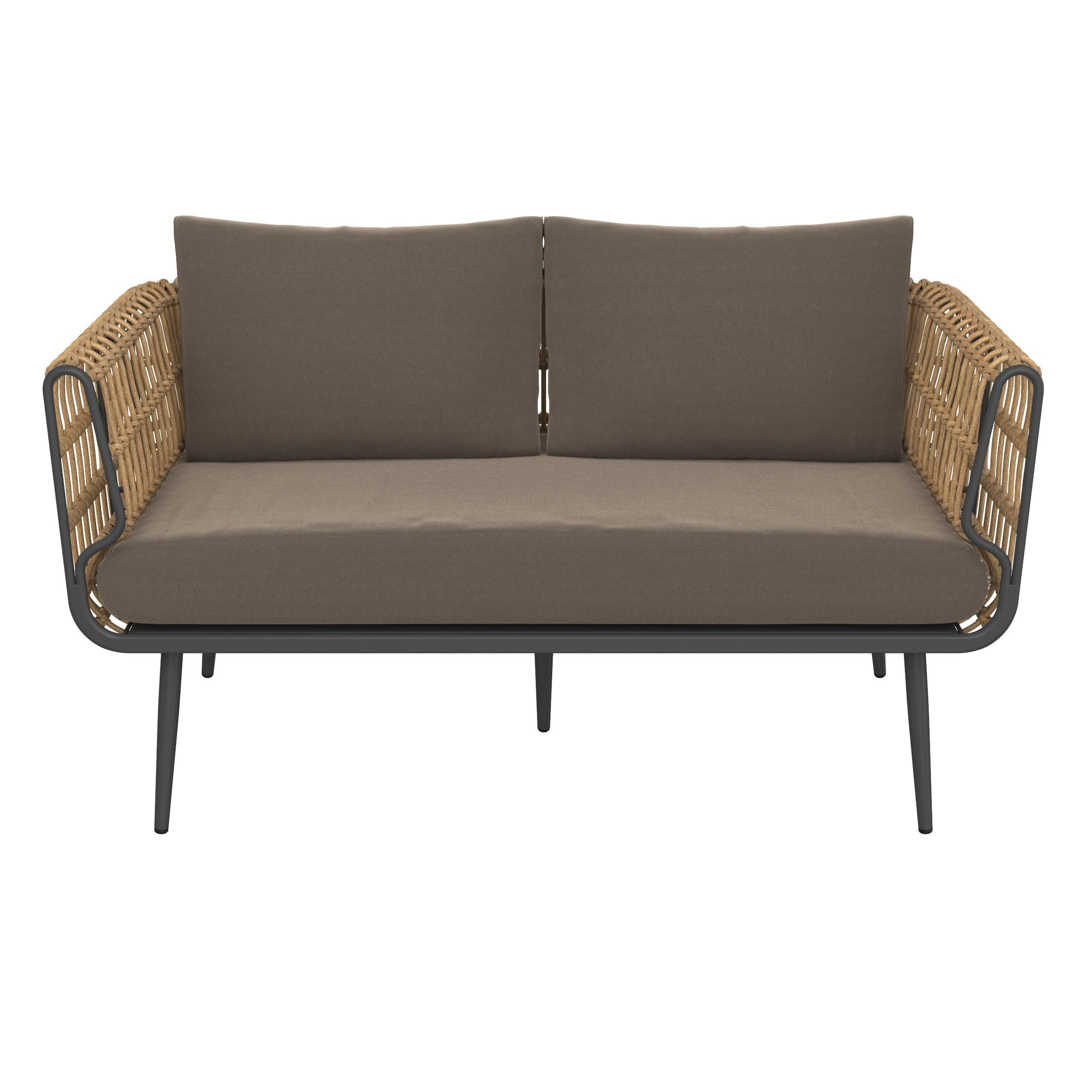 acheter canape exterieur 2 places confort