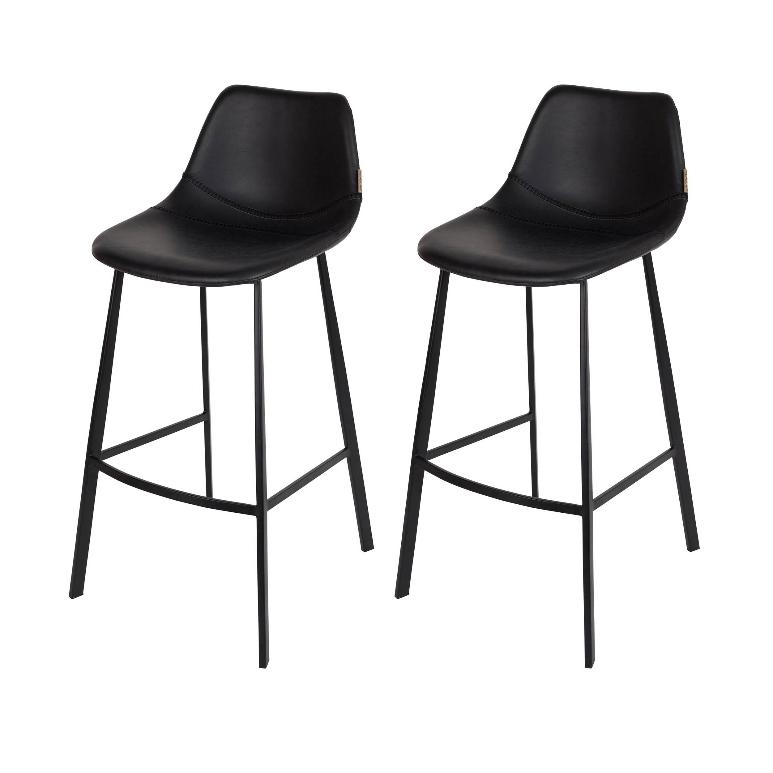 tabouret de bar franky noir commandez nos tabourets de bar franky noirs design rdv d co. Black Bedroom Furniture Sets. Home Design Ideas