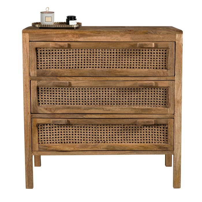 acheter commode cannage en ambiance