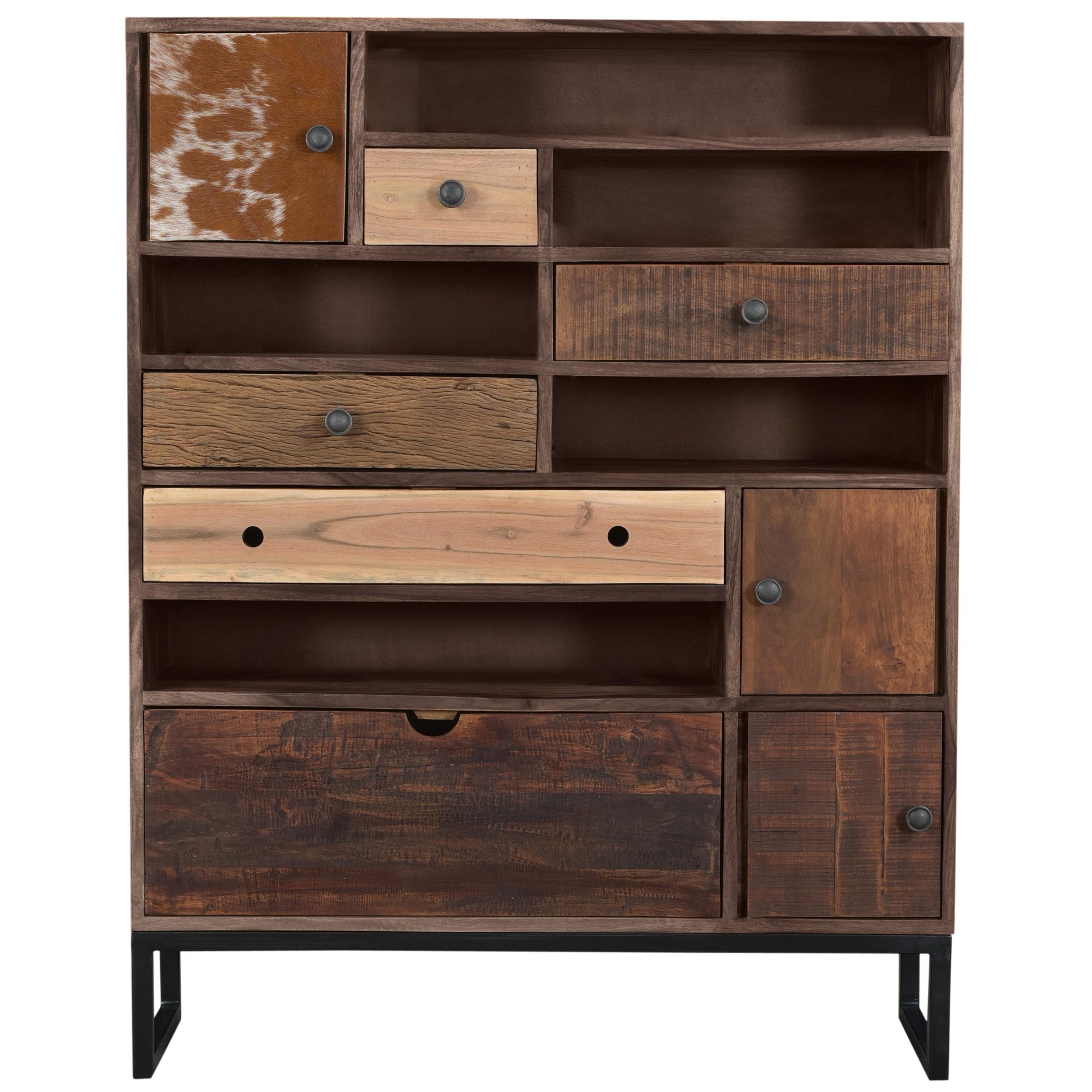 acheter commode ethnique bois design