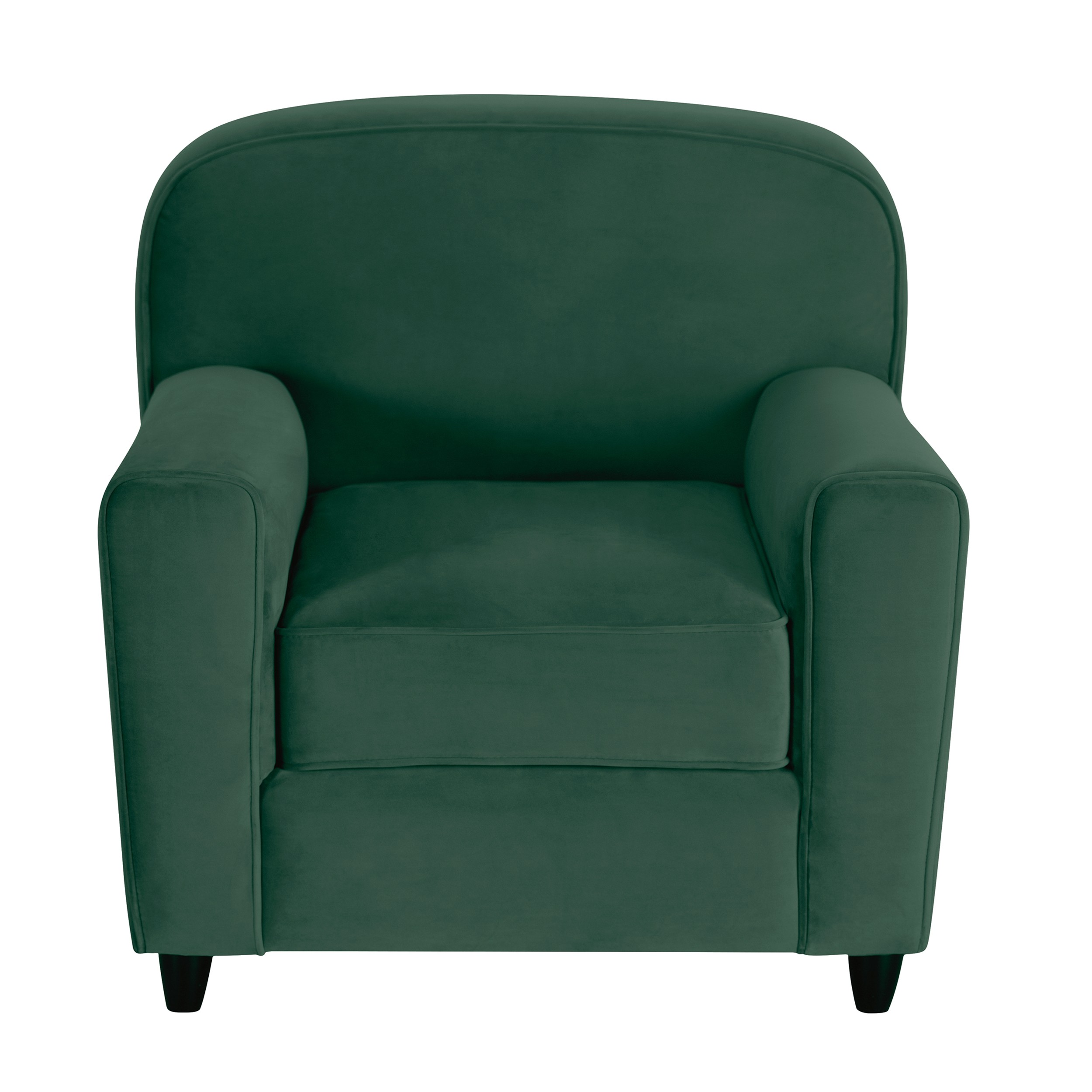 acheter fauteuil en velours vert club