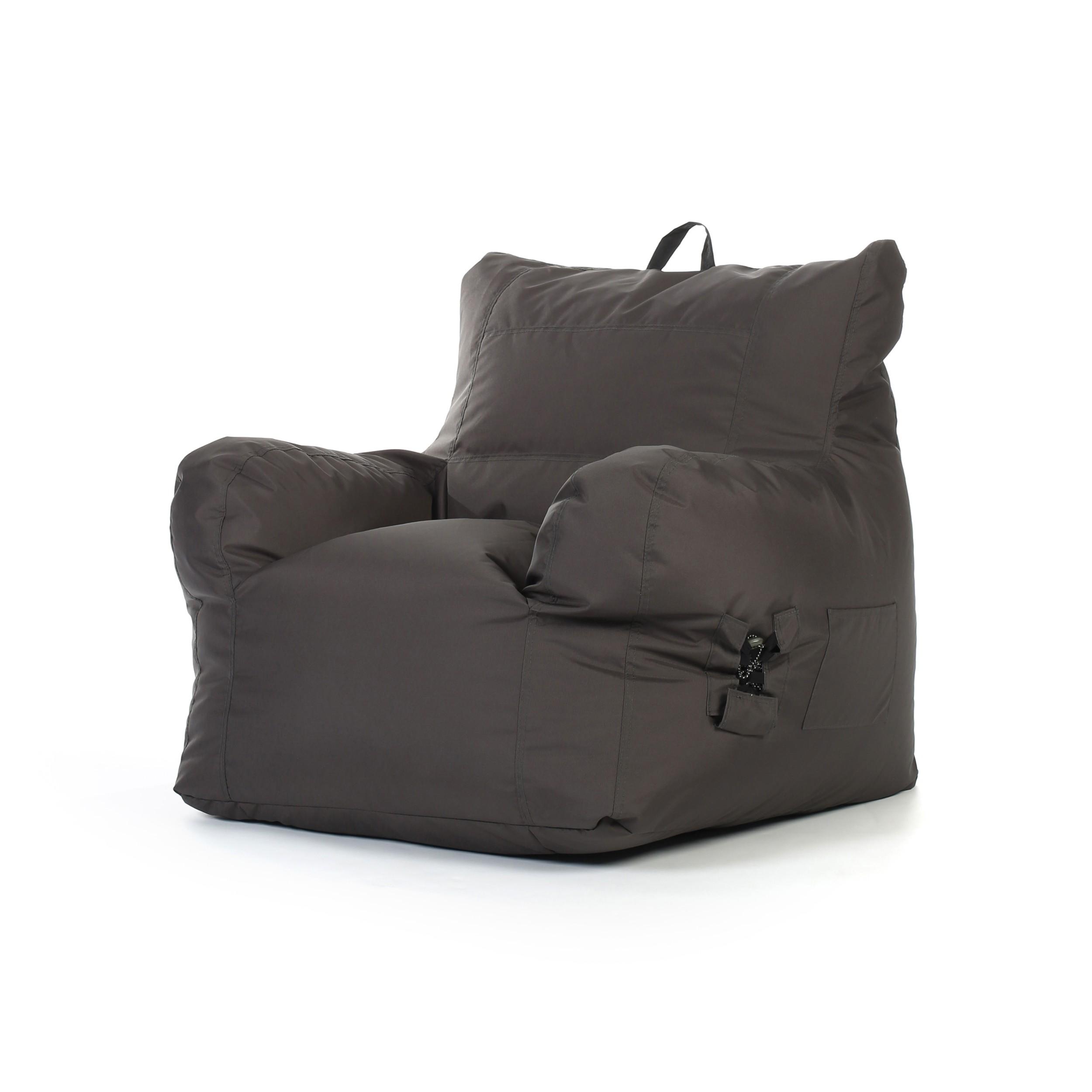 acheter fauteuil gris fonce exterieur interieur