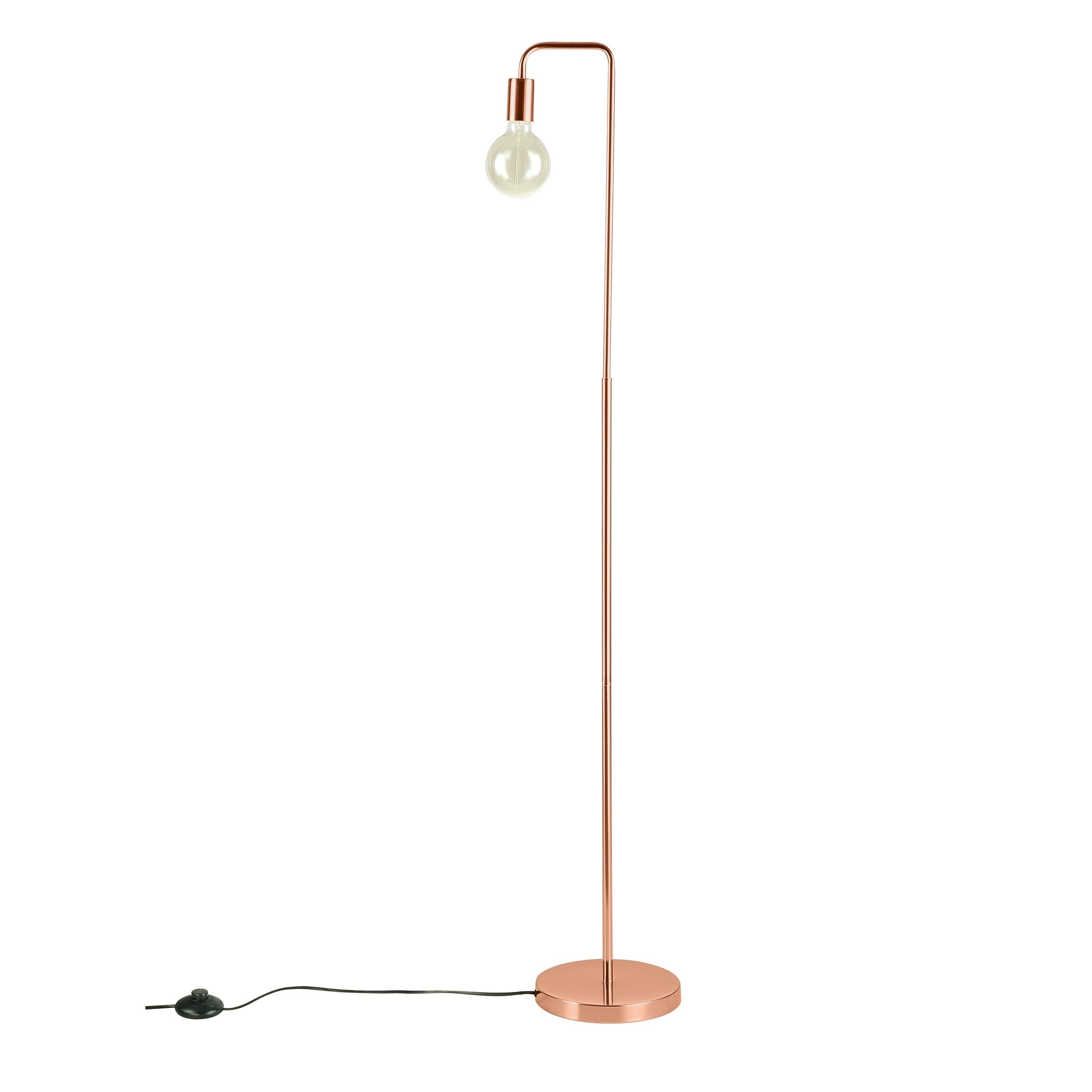 acheter lampadaire finition cuivre