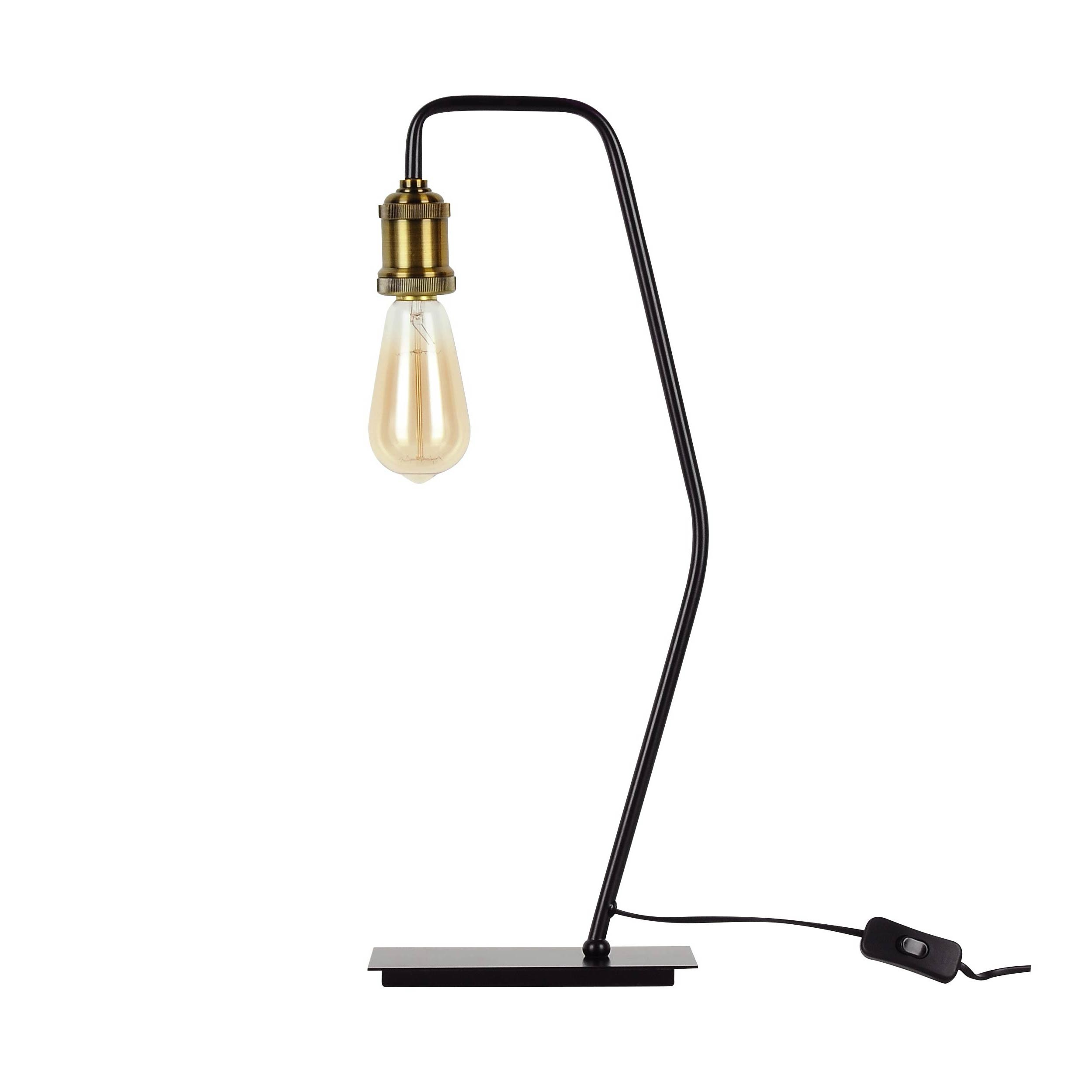 Incluse Lampe Poser Bronzeampoule À Lyssa 8nOkwP0