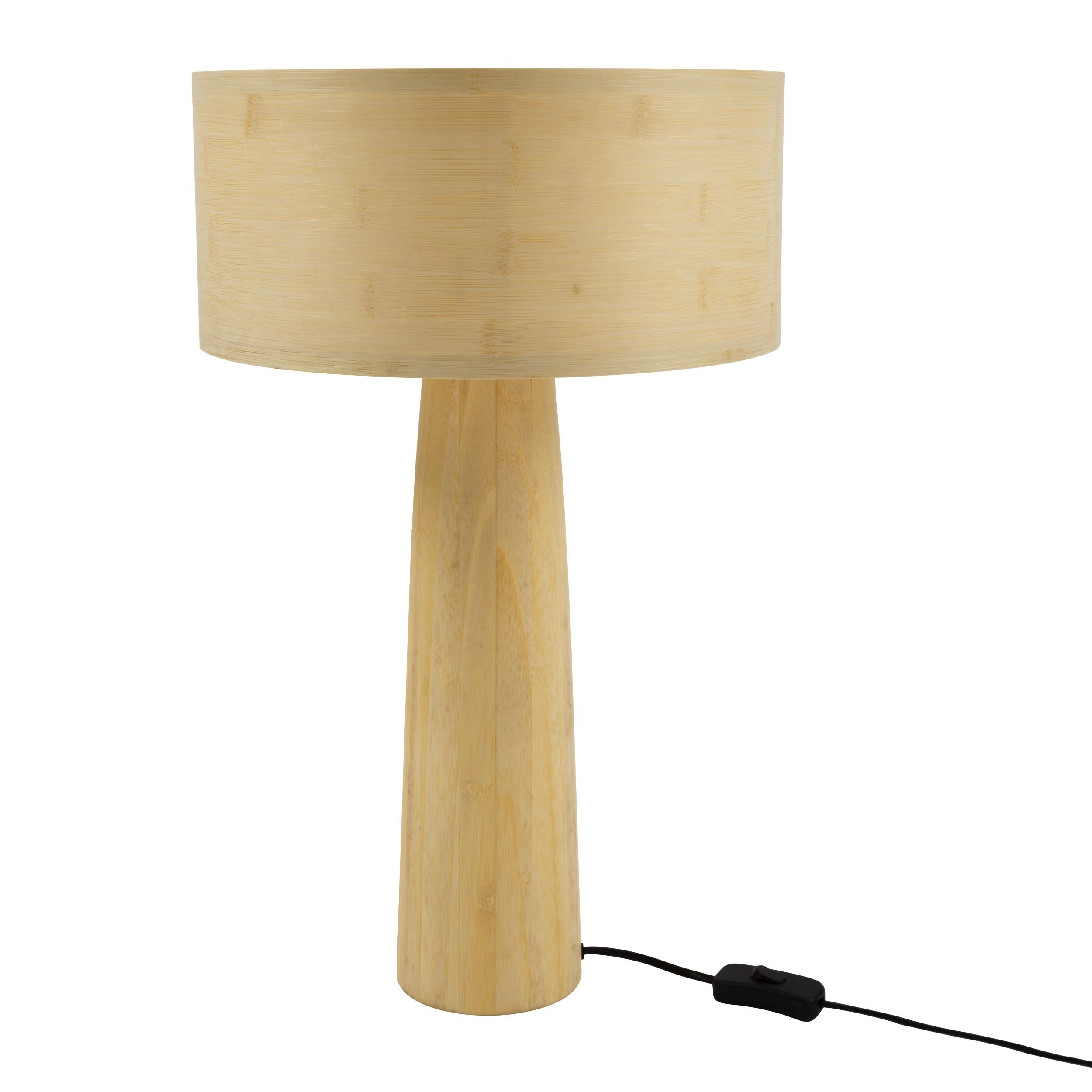 acheter lampe a poser en bois