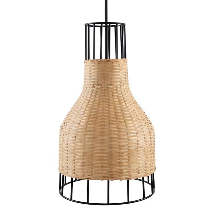 acheter suspension en bambou et metal