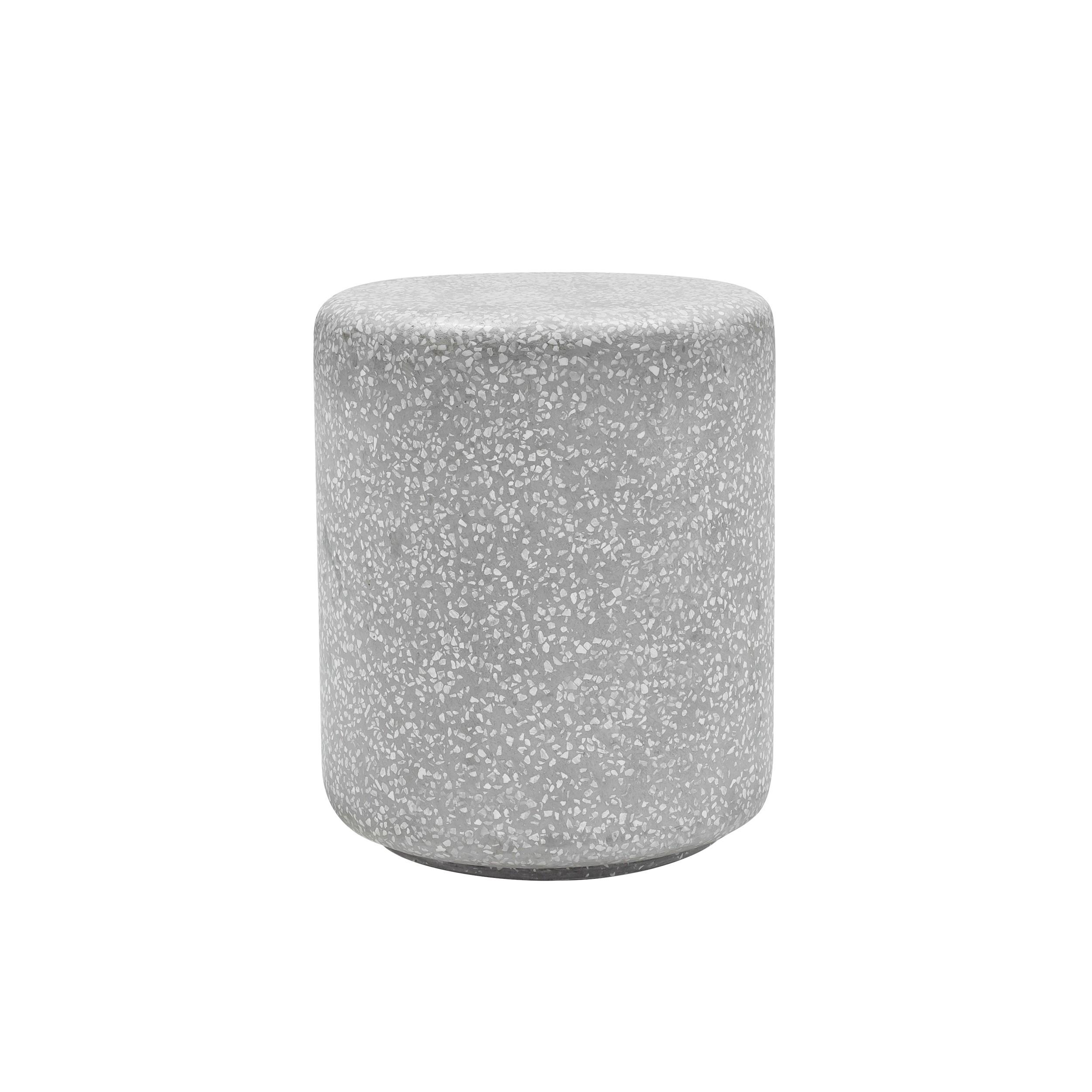 acheter table ronde d appoint grise 46 cm