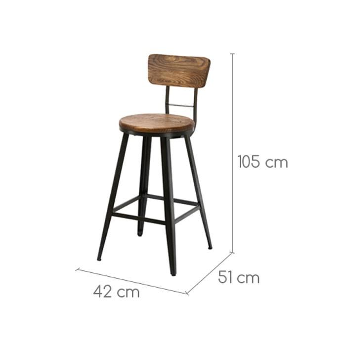 tabouret de bar 51 cm