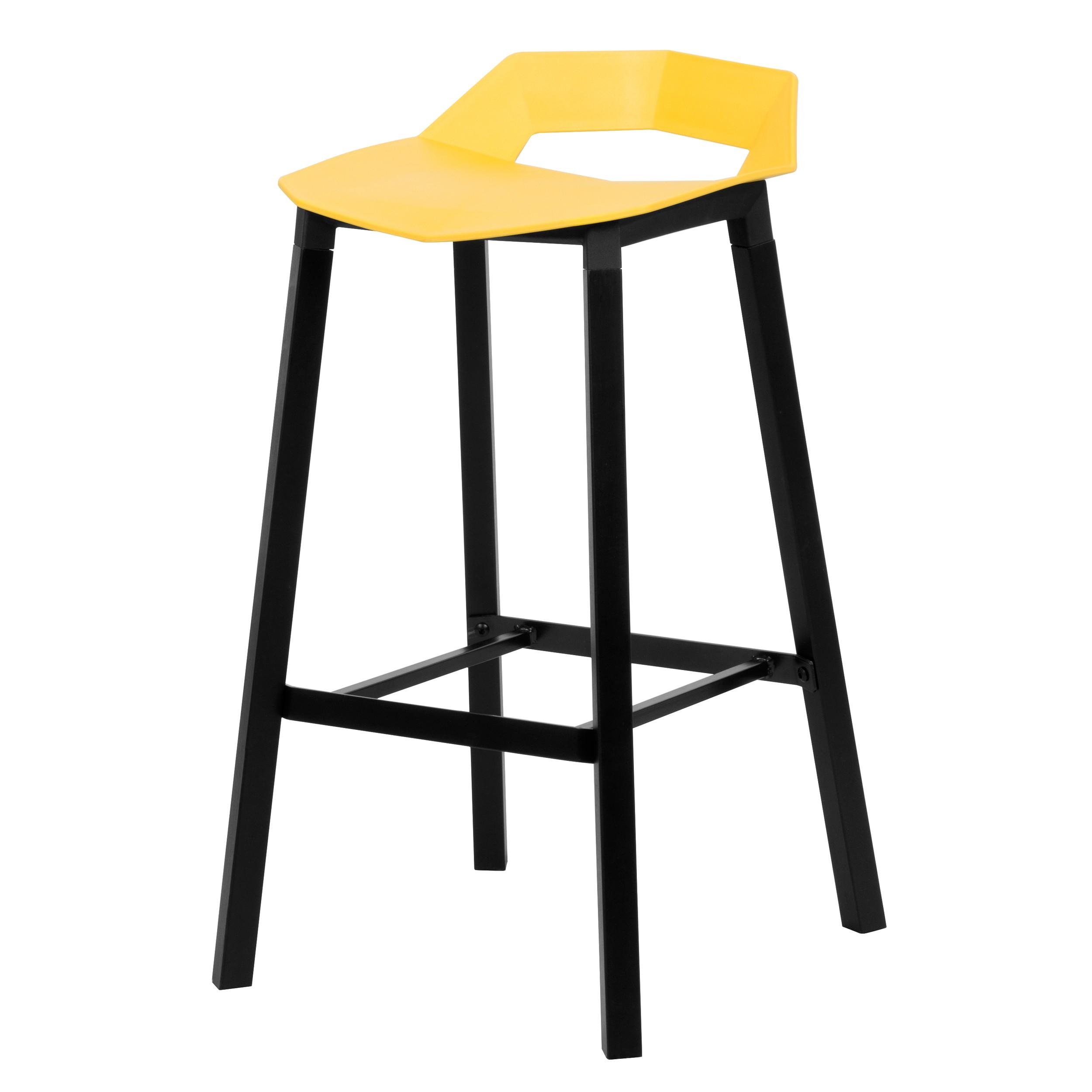 acheter tabouret de bar jaune design