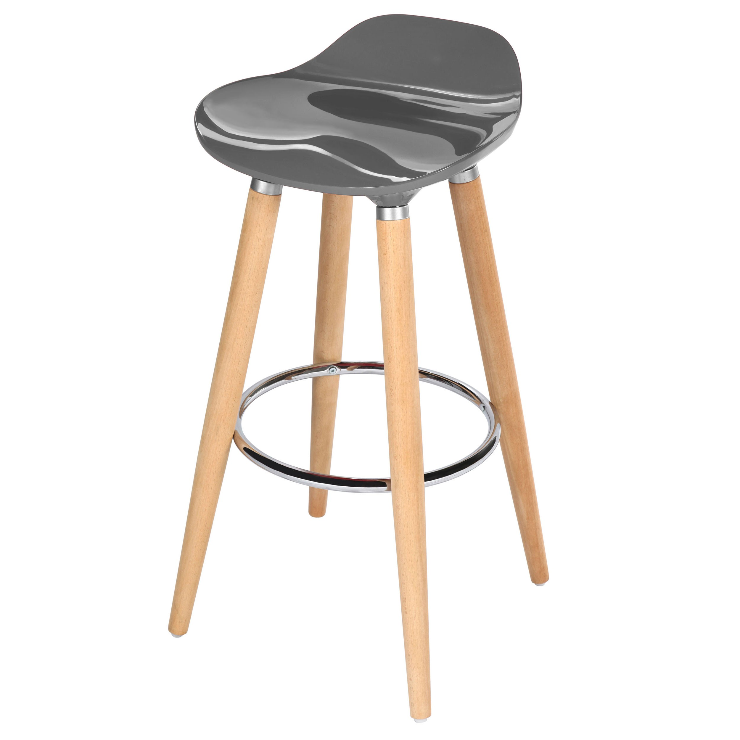 tabouret de bar italien gris commandez nos tabourets de. Black Bedroom Furniture Sets. Home Design Ideas