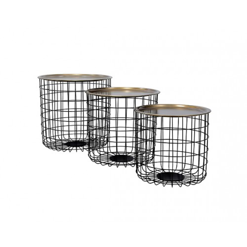 acheter table basse cage
