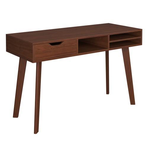 Bureau Moka 120 cm en bois foncé