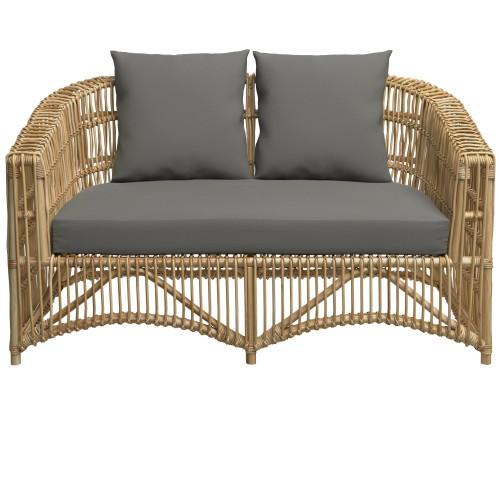 Canapé de jardin Mawi 2 places