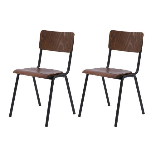 achat-chaise-écolier-bois-lot-de-2