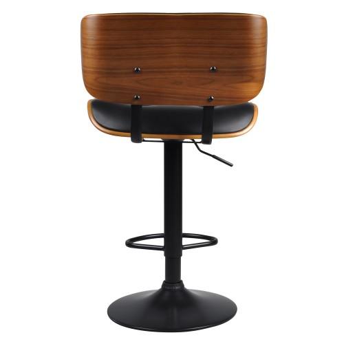 6282 Chaise noire de cm bar Melchior IYWH29ED