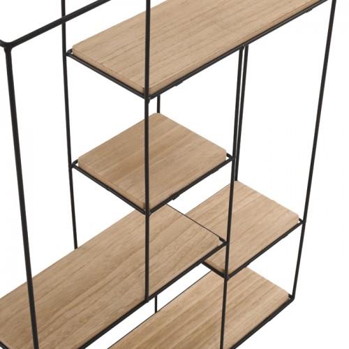 verticale bois Gigaro en Etagère et murale métal 0wk8nOP