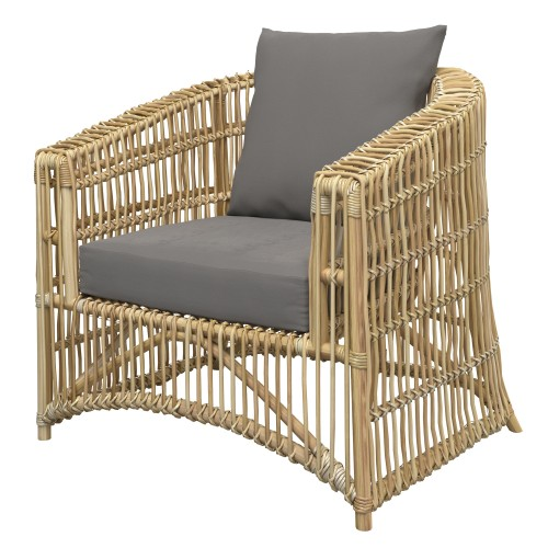 achat fauteuil en rotin naturel exterieur