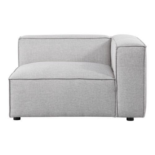 achat fauteuil gris clair modulable