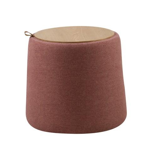 achat pouf pratique rangement tissu