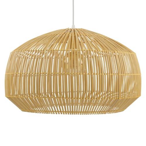 achat suspension en bambou
