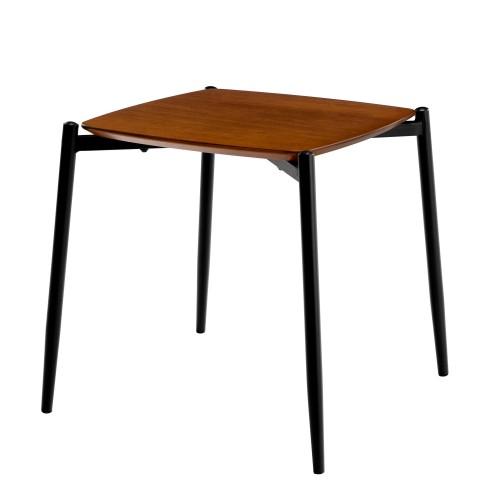 achat table basse design bois pieds metal