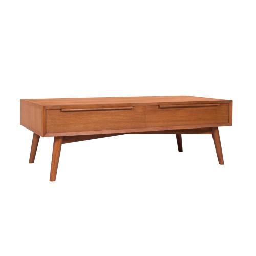 achat table basse vintage 2 tiroirs
