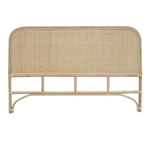 achat tete de lit rectangulaire rotin