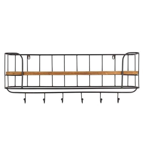 acheter étagère bois et métal