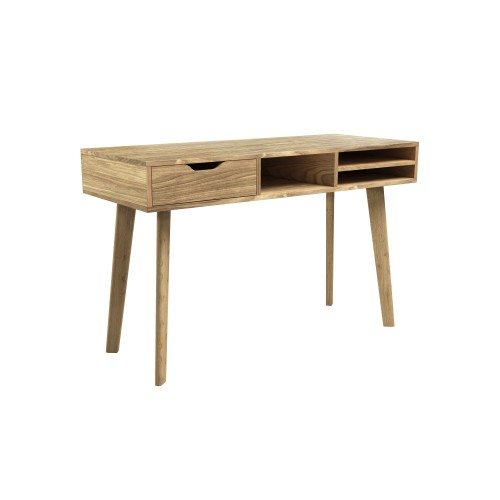 acheter bureau en bois clair naturel
