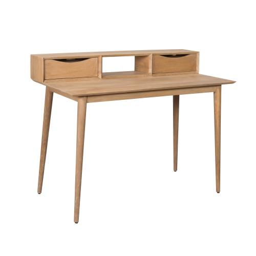 acheter bureau en bois de manguier