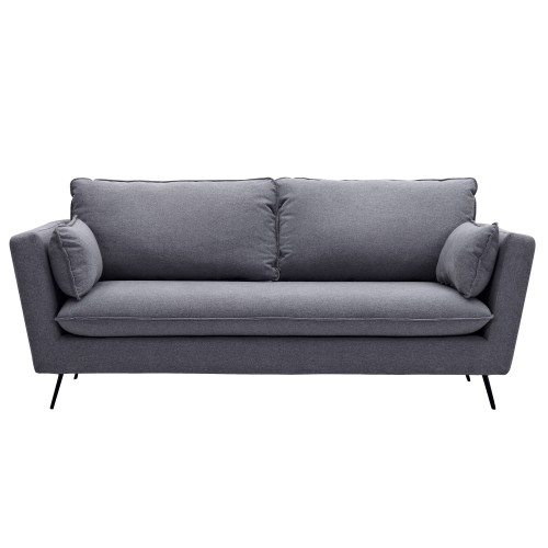 achat canape ambiace scandinave gris fonce