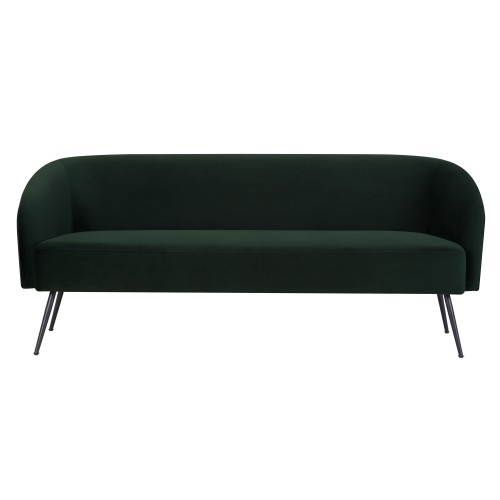 acheter canape 3 places en velours vert