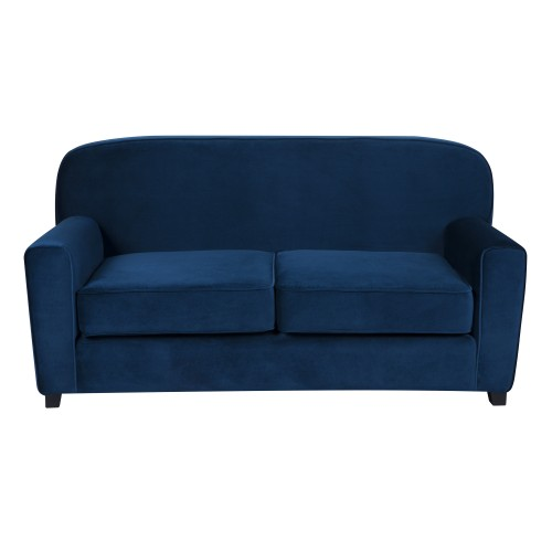 acheter canape bleu en velours