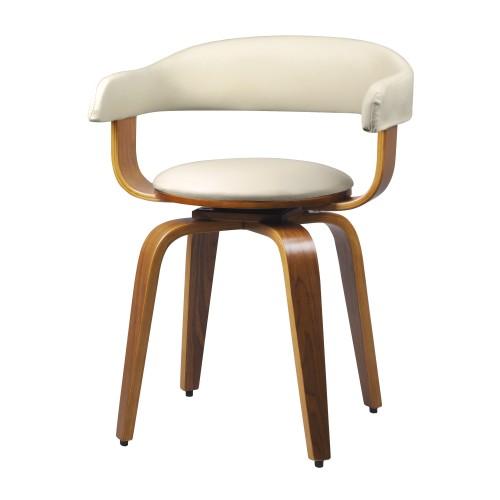 acheter chaise confortable blanc bois