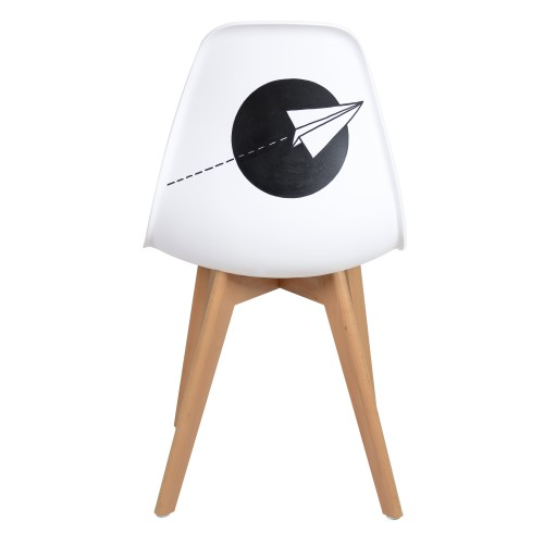acheter chaise d artiste noire derzek