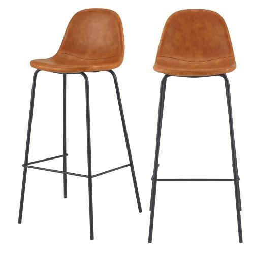 acheter chaise de bar camel 75 cm hauteur