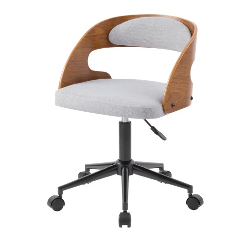 acheter chaise de bureau en bois et tissu
