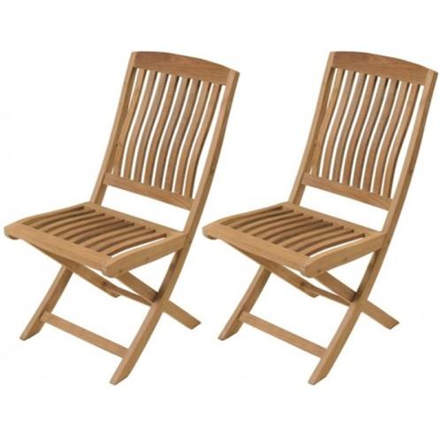 acheter chaise en bois lot de 2