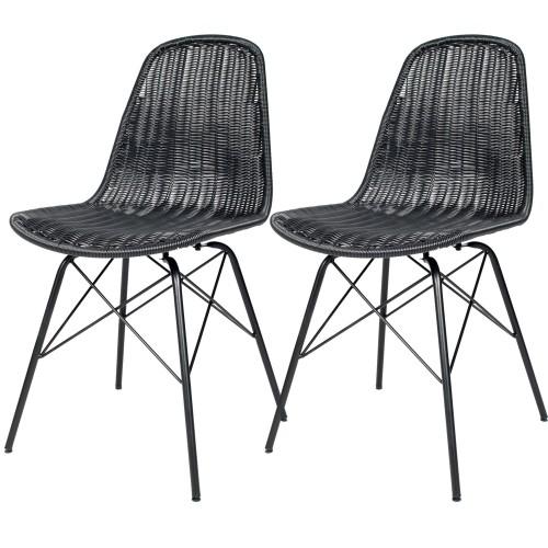 acheter chaise en resine tressee